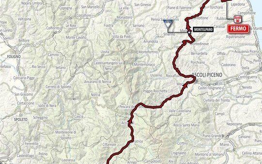 La Tirreno – Adriatico 2017 per le strade del fermano Transiterà anche per Monteleone di Fermo