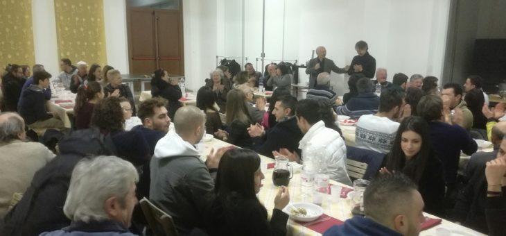 Il grande cuore di Monteleone di Fermo: una cena per aiutare Montefortino a rinascere