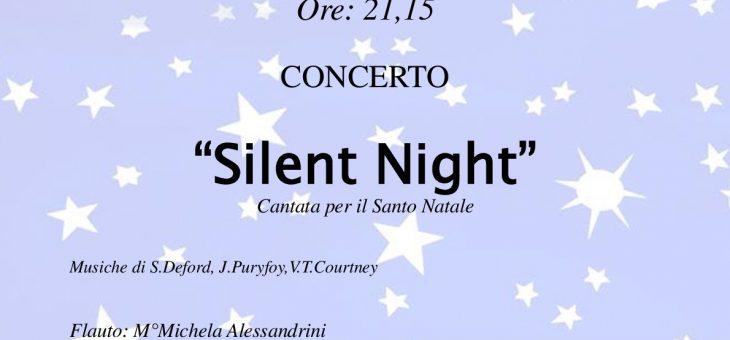 """""""SILENT NIGHT"""" – cantata per il Santo Natale"""