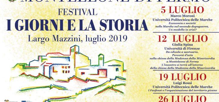 """La Terza edizione del Festival """"I Giorni e la Storia"""" torna a Monteleone di Fermo"""